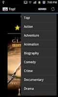 Screenshot of Tell me a movie