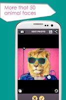 Screenshot of Animal Face