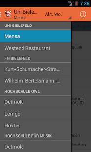 app mensa uni bielefeld apk for windows phone android games and apps. Black Bedroom Furniture Sets. Home Design Ideas