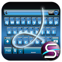 SlideIT Blue Metal Skin logo