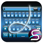 SlideIT Blue Metal Skin icon