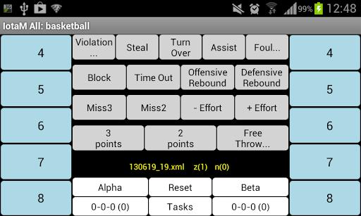 IotaMetrics Basketball