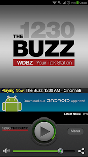 The Buzz 1230 AM - Cincinnati - screenshot thumbnail