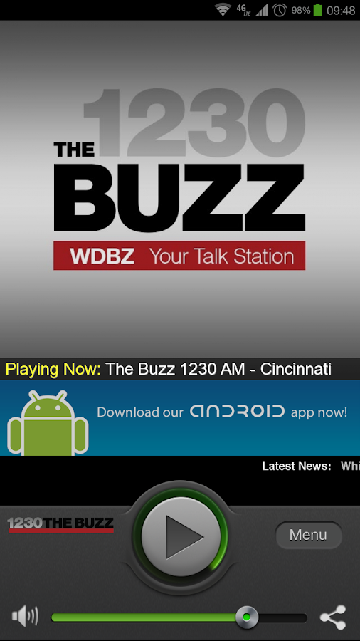 The Buzz 1230 AM - Cincinnati - screenshot