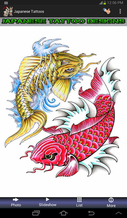 Japanese Tattoo Designs - Android Apps on Google Play