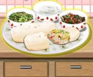 Burrito Cooking Game