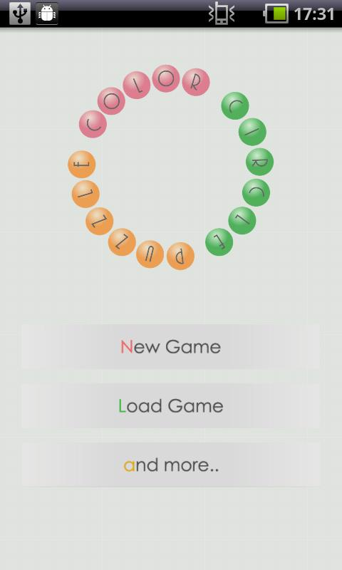 Color Circle Puzzle - screenshot