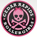 Cedar Rapids Roller Girls CRRG icon