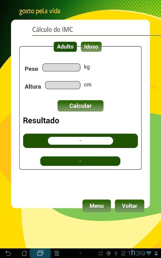 Nutricom- screenshot