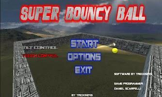 Screenshot of Super Bouncy Ball