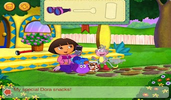 Screenshot of Dora and Diego's Vacation HD