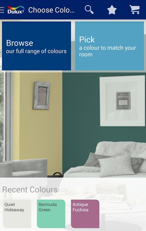 Dulux Visualizer IN - screenshot