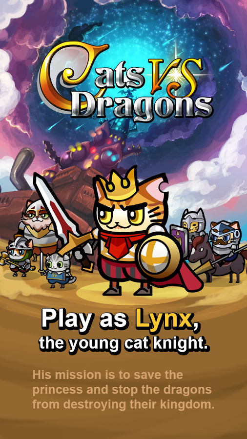 Cats vs Dragons - screenshot