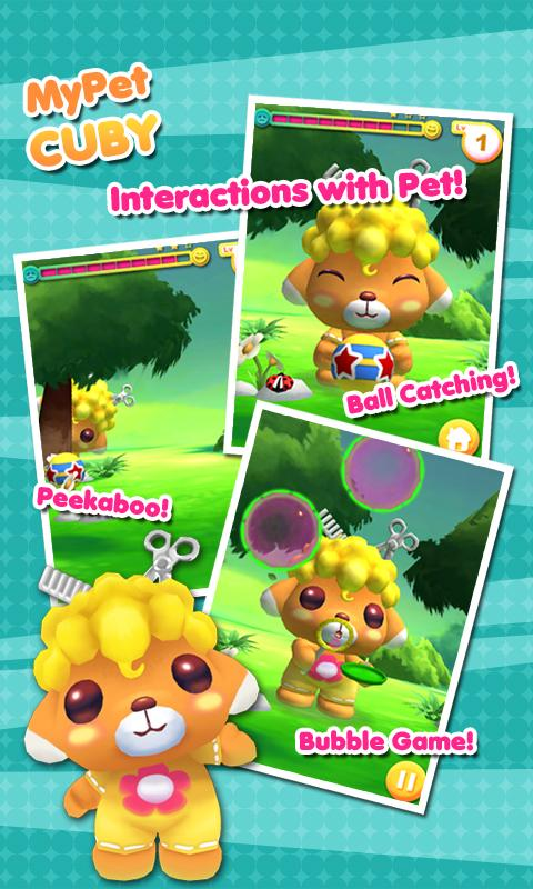 My Pet Cuby - screenshot