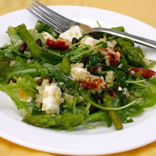California Pizza Kitchen Style Quinoa & Arugula Salad.