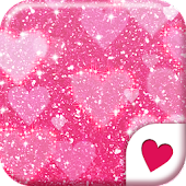 Cute wallpaper★Pink Glitter