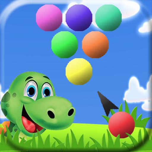 Bubble Shooter Dino