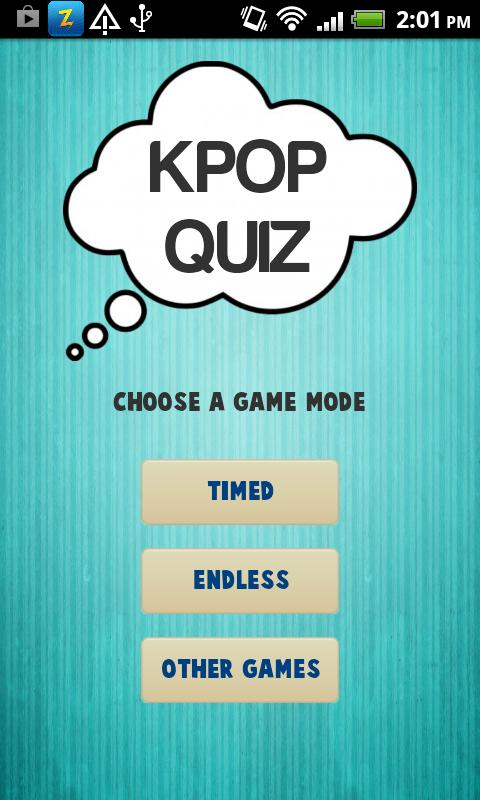 Kpop Quiz (K-pop Game) - screenshot
