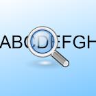 Text enlargement icon
