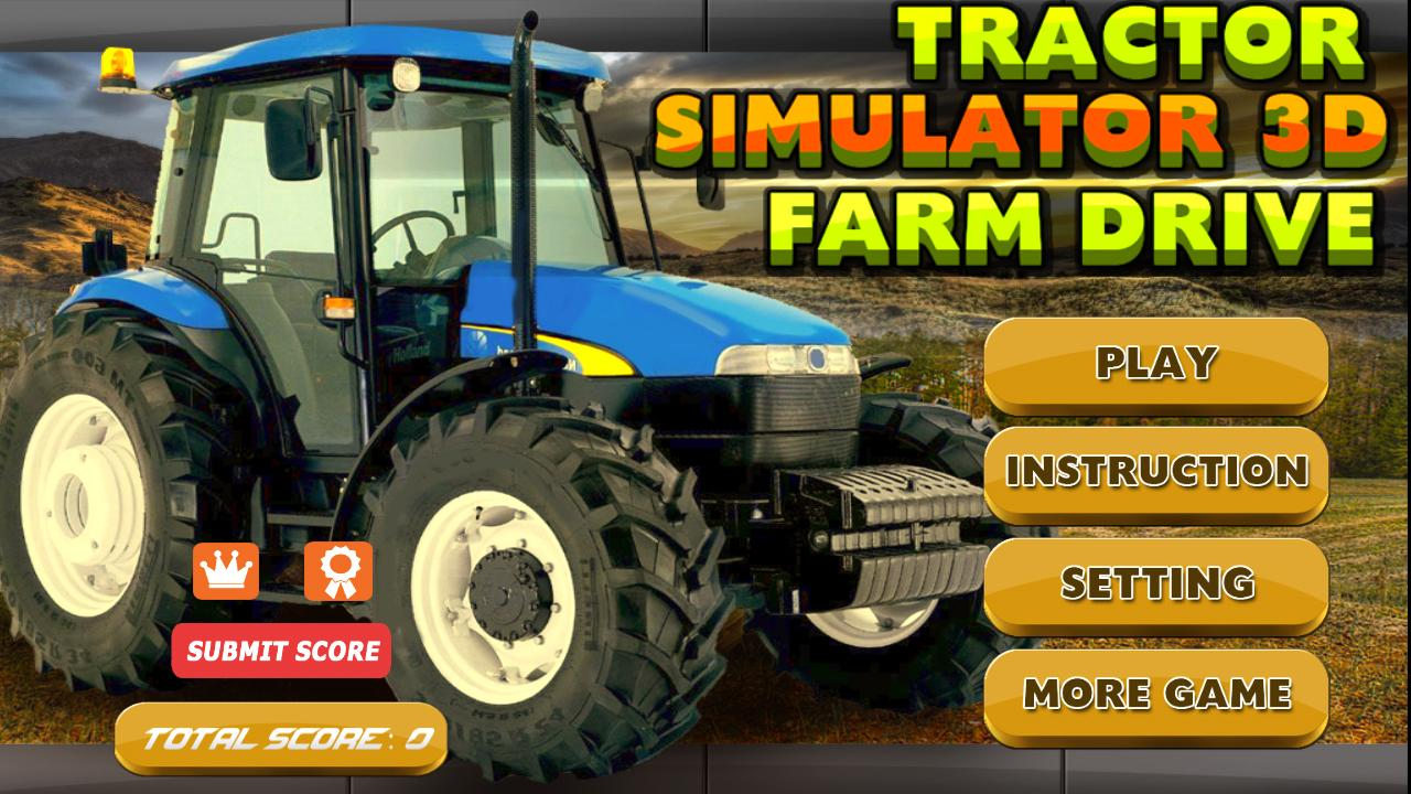 Tractor Simulator 2 : Tractor simulator farm drive android apps on google play