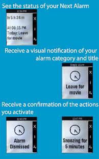 Simply Alarm for Pebble - screenshot thumbnail