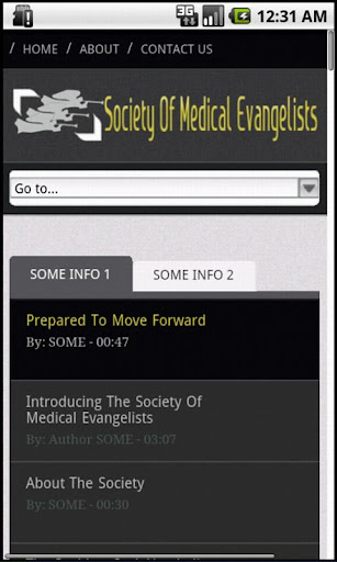 Society Of Medical Evangelists