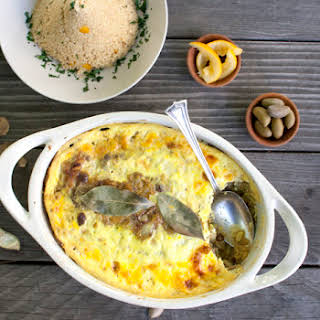Bobotie - South African Spiced Meat Pie.