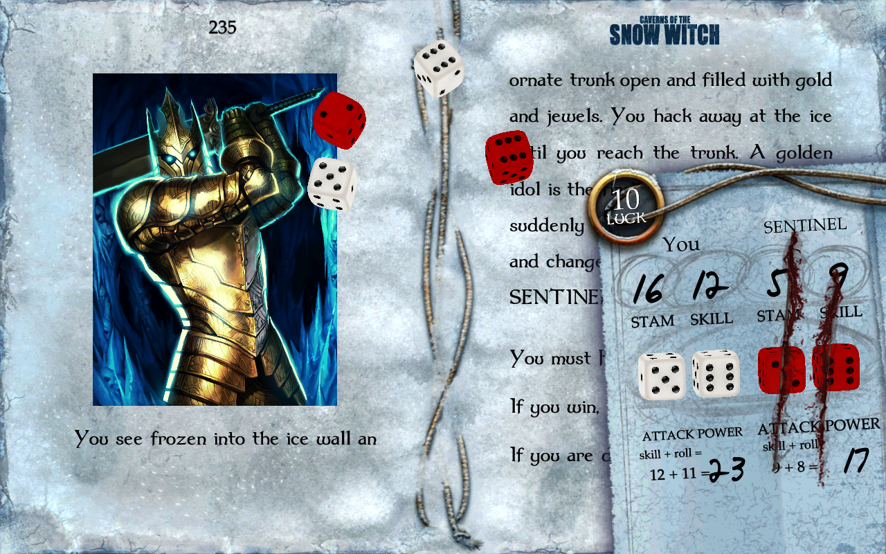 Caverns of the Snow Witch- screenshot
