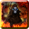 Grim Reaper Flame of Death LWP icon