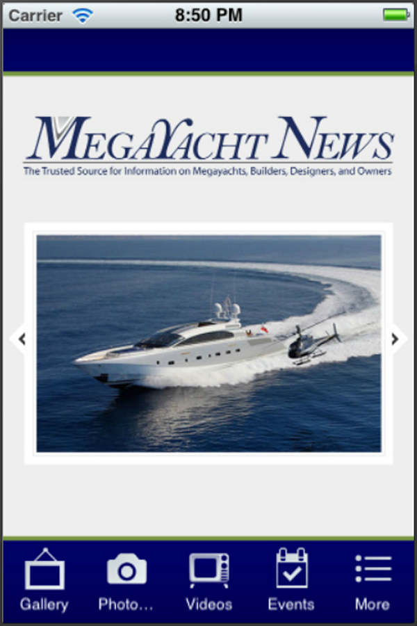 Megayacht News- screenshot