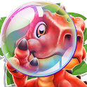 Dino Pop- Letter Spelling Game icon
