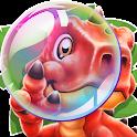 Dino Pop- Letter Spelling Game