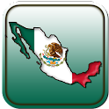 Map of Mexico icon