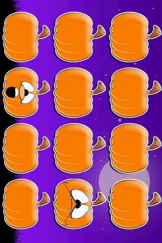 Halloween Memory Game - screenshot