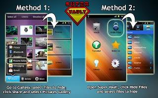 Screenshot of Super Vault - hide pictures