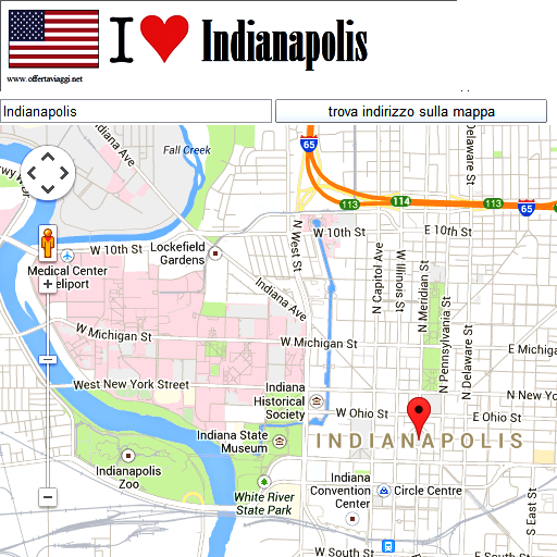 Indianapolis maps
