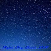 Night Sky Stars LWP