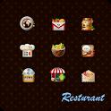Restaurant GoLauncher EX Theme logo