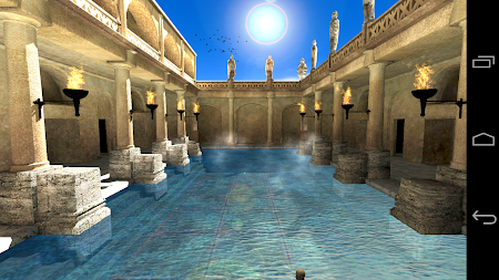 Roman Bath 3D Live Wallpaper APK screenshot thumbnail 17
