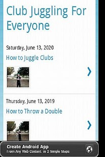 Learn to Juggle Clubs- screenshot thumbnail