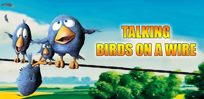 Talking Birds On A Wire AdFree