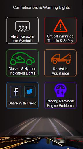Cars Indicators Warning Lights
