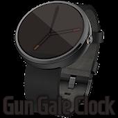 Gun Gale Clock