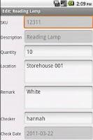 Screenshot of Inventory Maker