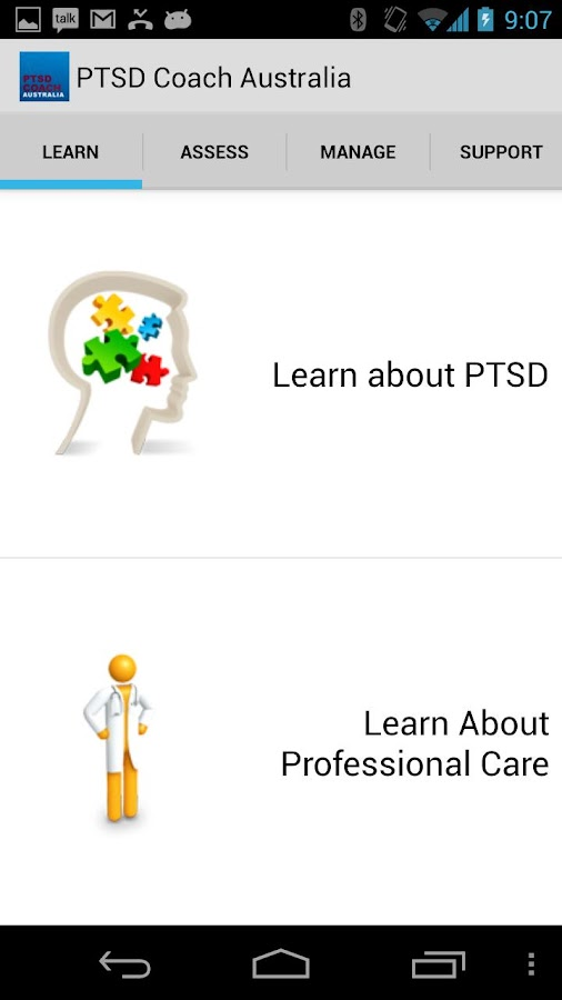 PTSD Coach Australia- screenshot