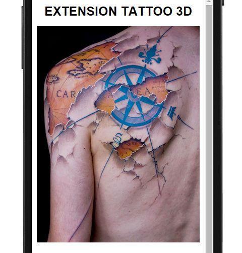 【免費生活App】紋身圖案3D-APP點子