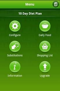 10 Day Easy Diet app- screenshot thumbnail