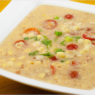 Sweet Corn, Bacon and Tomato Chowder