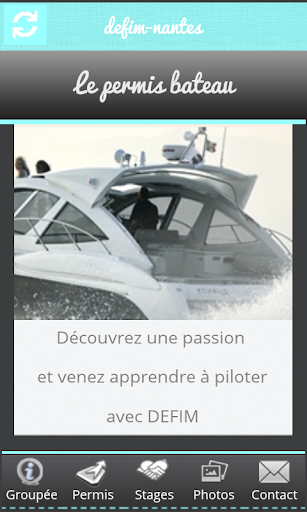 DEFIM permis bateau
