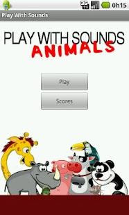 Play With Sounds - Animals- screenshot thumbnail